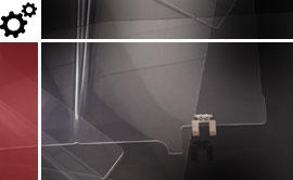 realizzazioni in plexiglass per il settore industriale