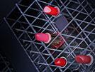 Cuvette in plexiglass per esposizione rossetti