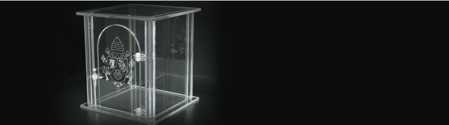 Creazioni su misura in plexiglass