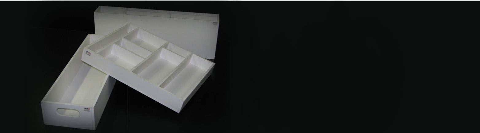 Contenitori per l'industria in PVC