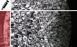 Oggetti di design in materiali plastici