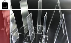 Oggetti in plexiglass per la GDO