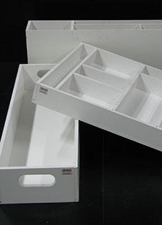 Contenitori industriali in materiali plastici