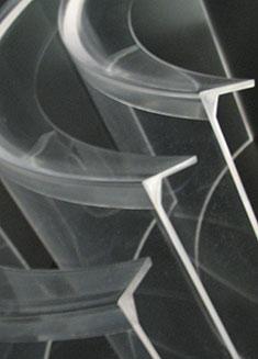 Carte e protezioni in plexiglass per macchine industriali