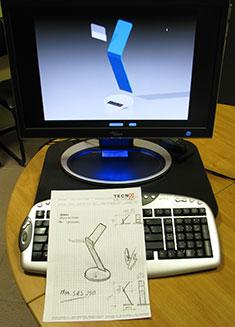 progettazione di oggetti di design in plexiglass
